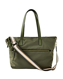 Accessorize Nadine Nylon Tote Bag