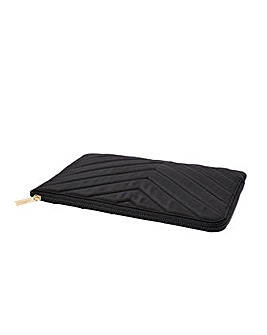 Accessorize Quilted Nylon Laptop Case