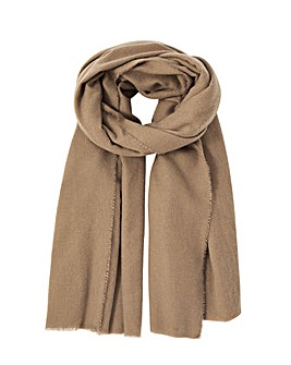 Accessorize Wells Blanket Scarf Camel