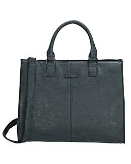 Enrico Benetti Metz Large Faux Leather Laptop Workbag