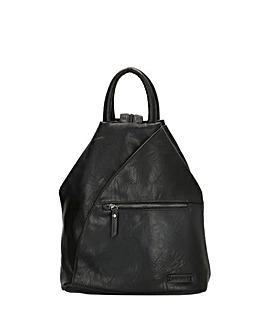 Enrico Benetti Caen Zip Split Handle Backpack