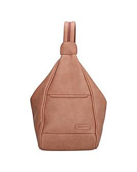 Enrico Benetti Lily Zip Split Handle Backpack