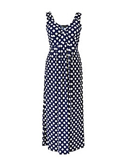 Mela London Curve Daisy Polka Dot Maxi D