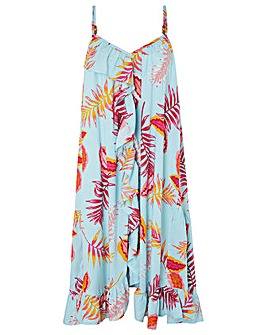 Monsoon Luma Ecovero Print Midi Dress