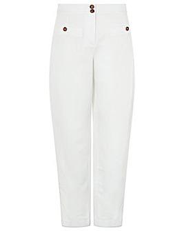 Monsoon Charlotte Regular  Linen Trouser