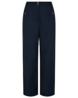 Monsoon Charlotte Regular  Linen Trouser
