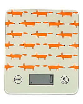 Scion Mr Fox Electronic Kitchen Scales