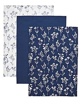 Nature Study Printed Tea Towel Set