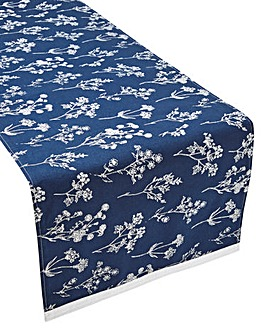 Nature Study Printed Table Runner