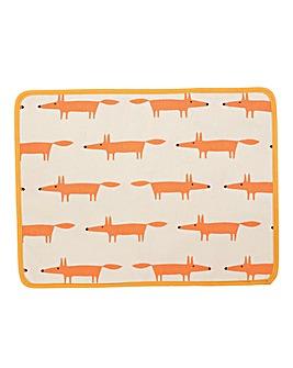 Scion Mr Fox Set of 4 Placemats