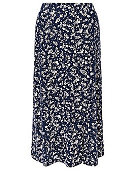 Monsoon Natty Ditsy Print Skirt
