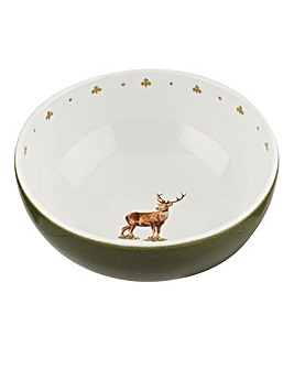 Glen Lodge Stag Set of 4 Bowls