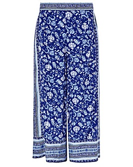 Monsoon Billie Ecovero Print Trouser