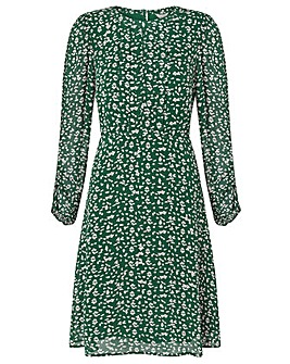 Monsoon Marty Print Dress