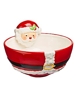 Santa Nibbles Bowl Set of 2