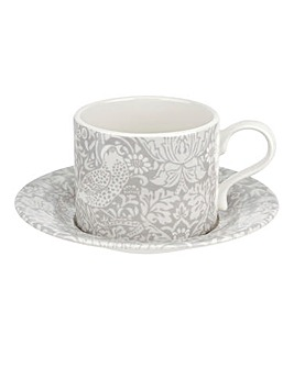 Morris & Co Pure Morris Tea Cup & Saucer