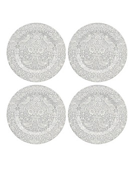 Morris & Co Set of 4 Dinner Plates