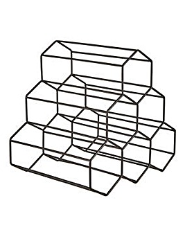 Geometric Wine Rack