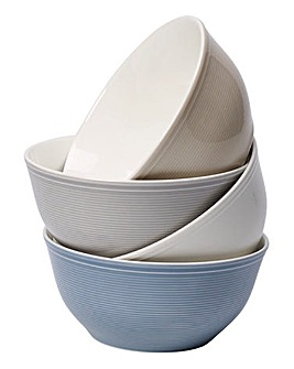 Vivo Colour Loop Set Of 4 Bowls
