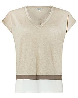 Monsoon Wallace Linen T-Shirt