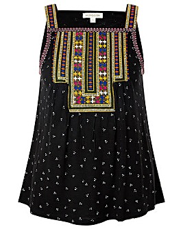 Monsoon Malakai Embroidered Jersey Cami