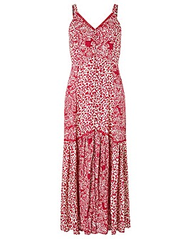 Monsoon Sunita Print  Maxi Dress