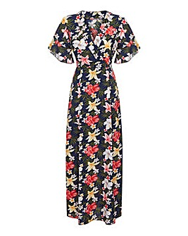 Mela London Curve Frangipani Flower Maxi