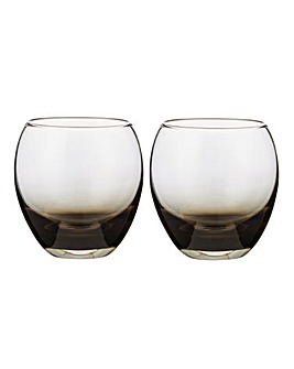 Denby Set of 2 Small Halo Tumblers