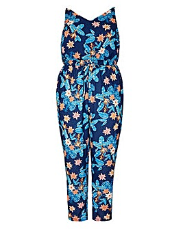 Mela London Curve Tropical Printed Draws