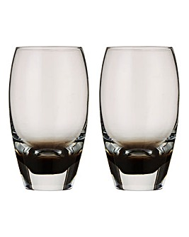 Denby Set of 2 Large Halo Tumblers