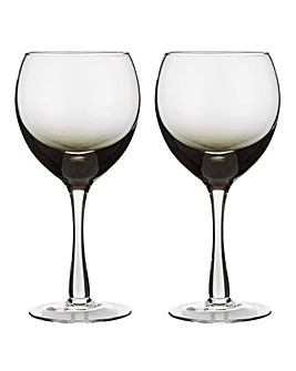 Denby Set of 2 Halo Red Wine Glasses