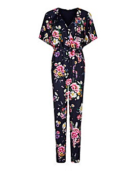 Yumi Curves Daisy Bouquet Jumpsuit