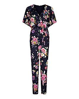 Yumi Curves Daisy Bouquet Jumpsuit