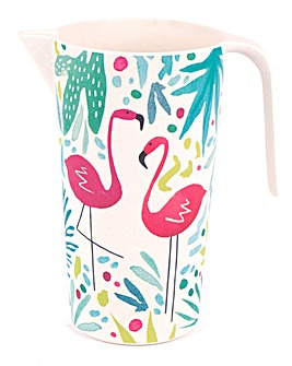 Flamingo Bamboo Large Jug