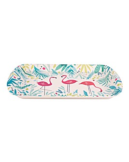 Flamingo Large Rectangle Tray