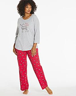Pretty Secrets 3/4 Sleeve Pyjama Set