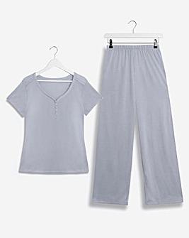 Pretty Secrets Button Detail Pyjama Set