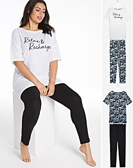 Pretty Secrets Value 2 Pack Legging Sets