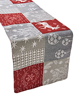 North Pole Tapestry Runner
