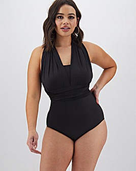 MAGISCULPT Black Convertible Swimsuit