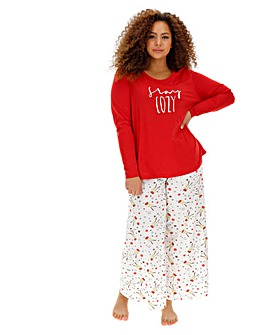 Pretty Secrets Value Long Slv Wide PJ