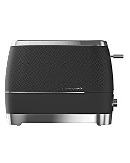 Beko Cosmopolis Black & Chrome Toaster