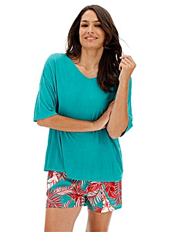 Pretty Secrets Viscose Shortie Set