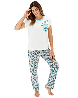 Cinderella Fashionably Late Pyjama Set