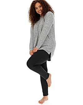 Pretty Lounge Knitted Tunic and Legging
