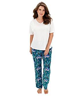 Pretty Secrets Viscose Pyjama Set