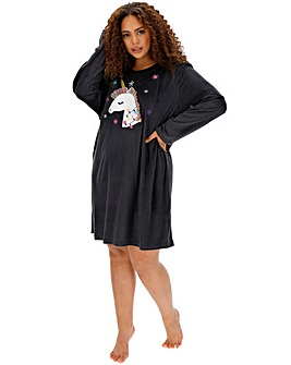 Pretty Secrets Unicorn Supersoft Fleece Dress
