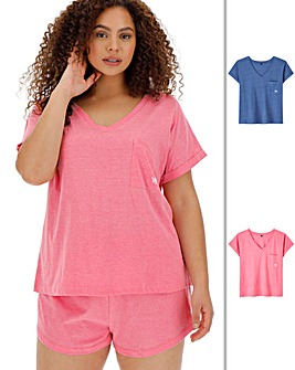 Pretty Lounge Pack of 2 T-Shirts