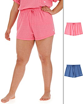 Pretty Lounge Pack of 2 Shorts