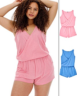 Pretty Lounge Pack of 2 Playsuits